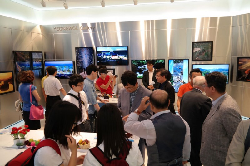 "Samsung Electronics Opens ""Samsung Smart Camera Gallery"" in Yeongwol"