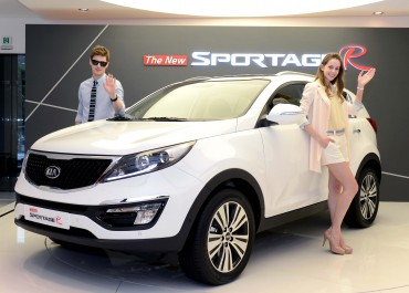 Kia Motors Unveils 'The New Sportage R'