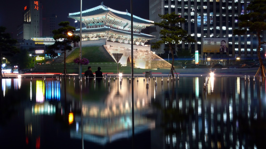 Namdaemun, the first National Treasure of South Korea (Wikemedia Commons)