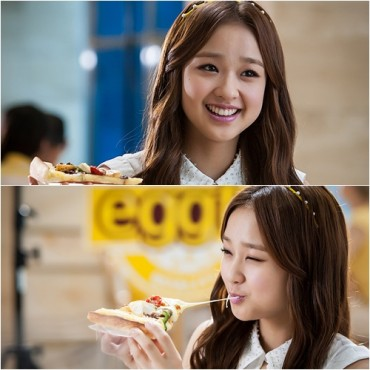 Son Yeonjae, Asia's Number One Rhythmic Gymnast Stars at Mr. Pizza CF