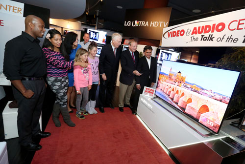 LG Expands Ultra HDTV Lineup with Global Introduction of Two New Models