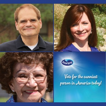 Spread a Little Sunshine: Ocean Spray Asks Fans to Vote On the Sunniest Person in America