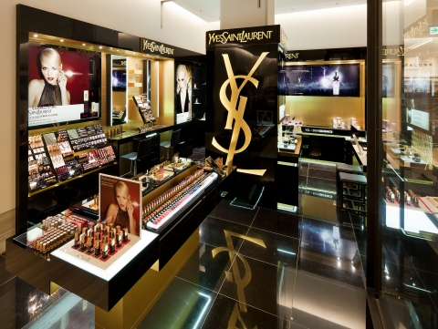 Yves Saint Laurent Beauty Opens its Fifth Store in Korea (image: Yves Saint Laurent)