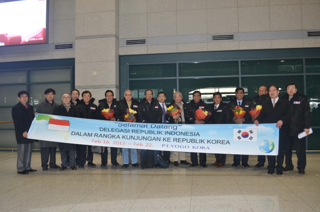Earlier this year, dignitaries from Indonesian government visited Korea to discuss mutual cooperation in the field of technology, property development and other things. (image: PT.VOGO KORA)
