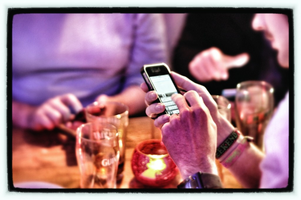 The most influential factor for smartphone addiction was the pleasure-seeking tendency observed in some smartphone users. (image: Flickr, by philcampbell)
