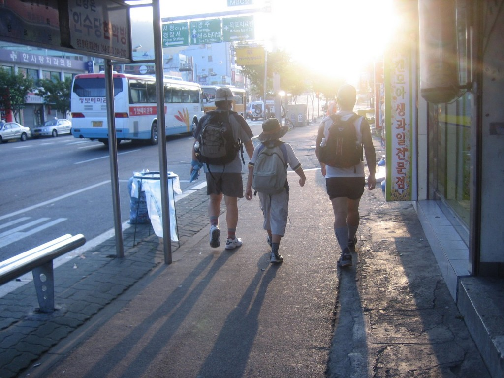 Walking the street (image: Picasa, by Ohsun Kook)