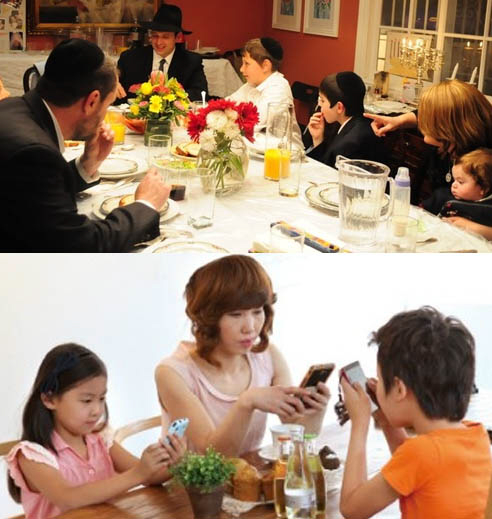 Recently 'Havruta,' traditional Jewish learning, has been employed not only in educational purposes but also for purpose of reviving conversational skills among smartphone-addicted children In Korea. (image credit: Havruta Education Research Institute of Korea)