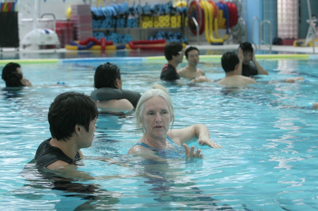 The Seoul Community Rehabilitation Center announced that it will hold a training session for 'Water Dance,' a type of underwater exercise for the first time in Korea at the center. (image credit: Seoul Community Rehabilitation Center)