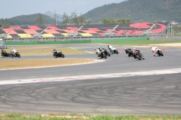 KMF Korea Road Race Championship held at Yeongam F1 Race Track