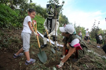Energizer Korea Holds Tree-planting Event Jointly with Seoul Gov't
