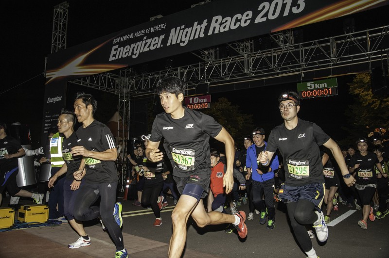 5th Energizer Night Race Held at Seoul's World Cup Park