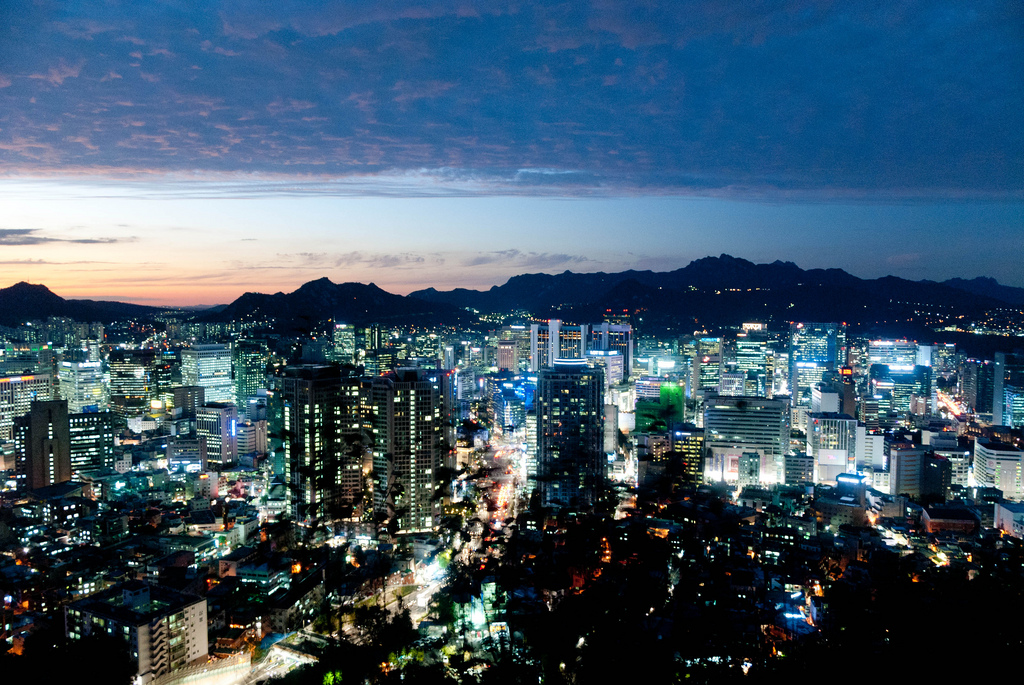 Seoul has been selected as the world's sixth best city in terms of international competitiveness rankings whose evaluation categories included economy, research and development, cultural interaction, livability, environment, and accessibility. (image credit: theaucitron @ flickr)