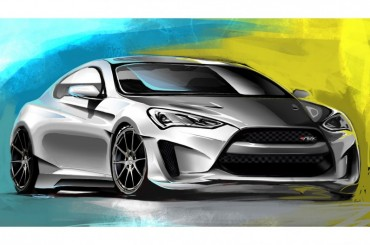Hyundai Joins Forces With ARK Performance To Create Legato Concept Genesis Coupe For SEMA Show