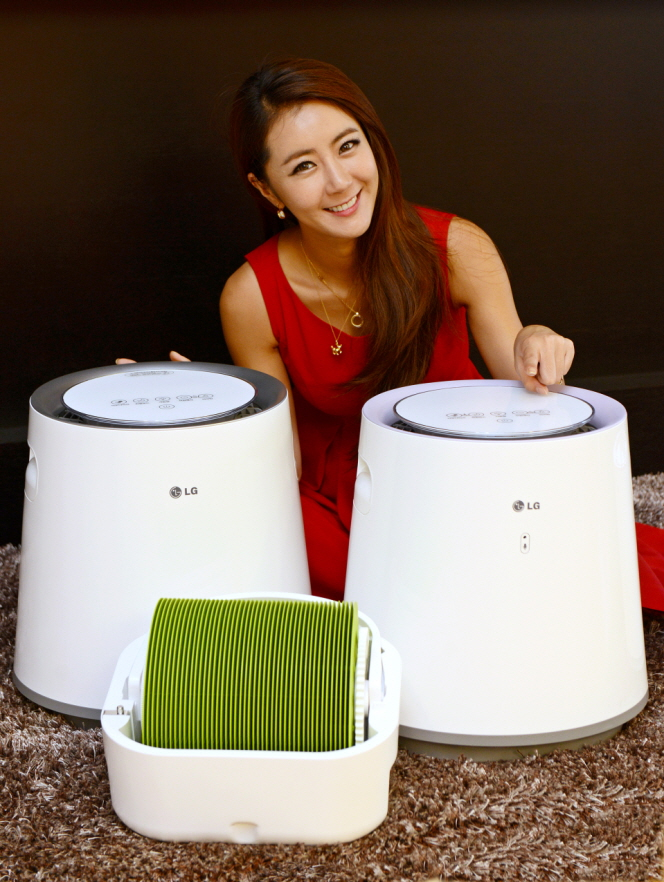 LG Electronics Unveils 10 Airwasher Models ahead of Dry Winter