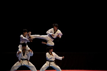 Kukkiwon Taekwondo Demonstration Team Shows off Their Best Moves