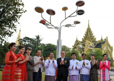 Asiana to Light Buddhist Pagoda in Myanmar's Capital
