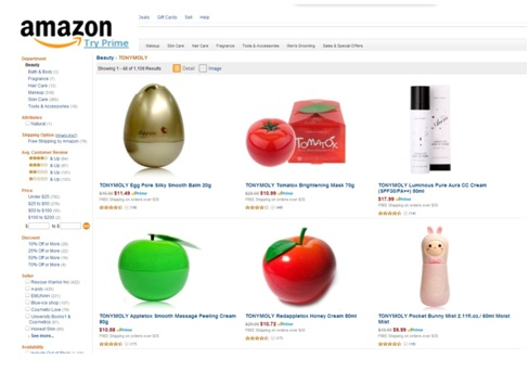 Tonymoly Cosmetics to Debut on Amazon Sales Platform Worldwide