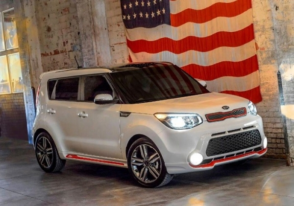 """The """"Red Zone"""" edition Soul is the first special-edition based on the all-new second-generation Soul. (Photo : Kia Motors America)"""