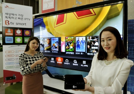 """Marvell Joins Forces with SK Broadband to Deploy Smart IPTV Set-Top Box """"B TV Smart"""""""