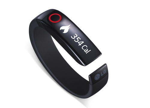 LG Jumps Into Fitness Tech At CES With Lifeband Touch And Heart Rate Earphones. (image credit: LG newsroom)