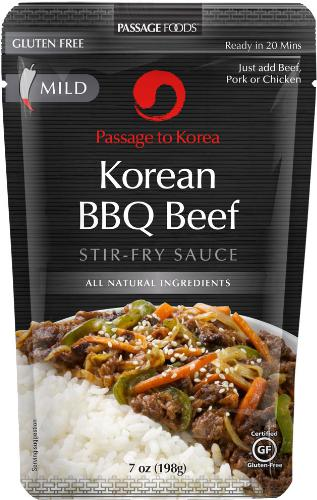 Passage Foods Announces Korean BBQ Beef Simmer Sauce as First New Addition to 2014 Cooking Sauce Line