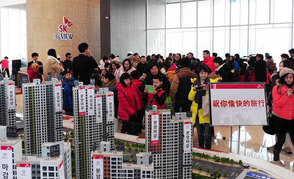 The Chinese Show Interest in Residential Properties