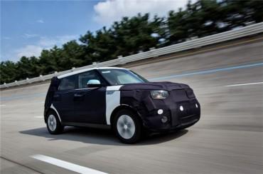 """Kia's """"Soul EV"""" Wins UL Mark for Eco-friendly Interior Materials"""