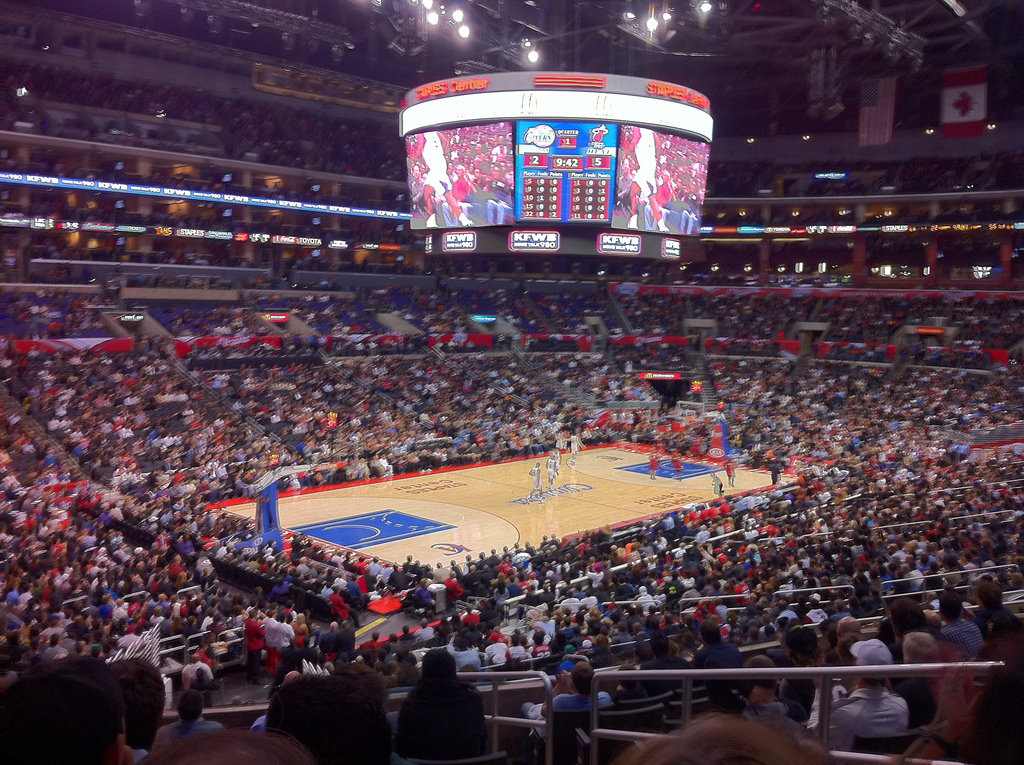 C.A Clippers Fans post pictures to Clippers social media channels for a chance to win. (image credit: davidcjones @ flickr)