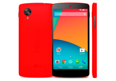 LG And Google Announce First Red Nexus 5