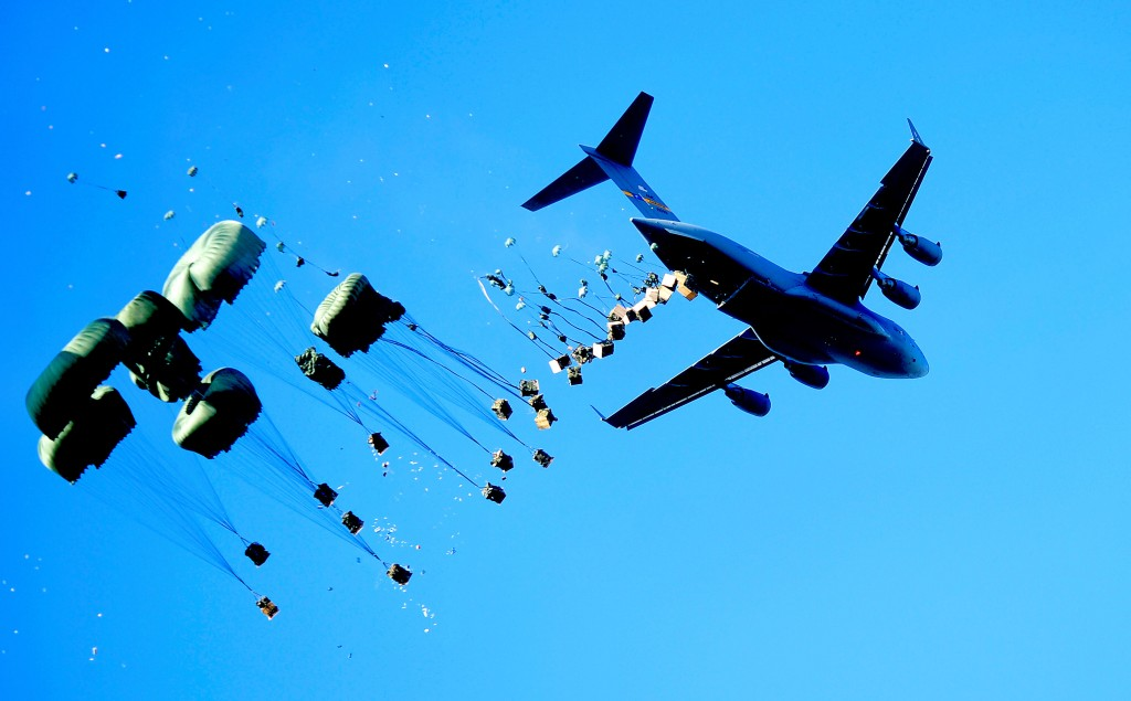 Innovation will dramatically shape tomorrow's supply chains (image: 437th Airlift Wing at Wikipedia)
