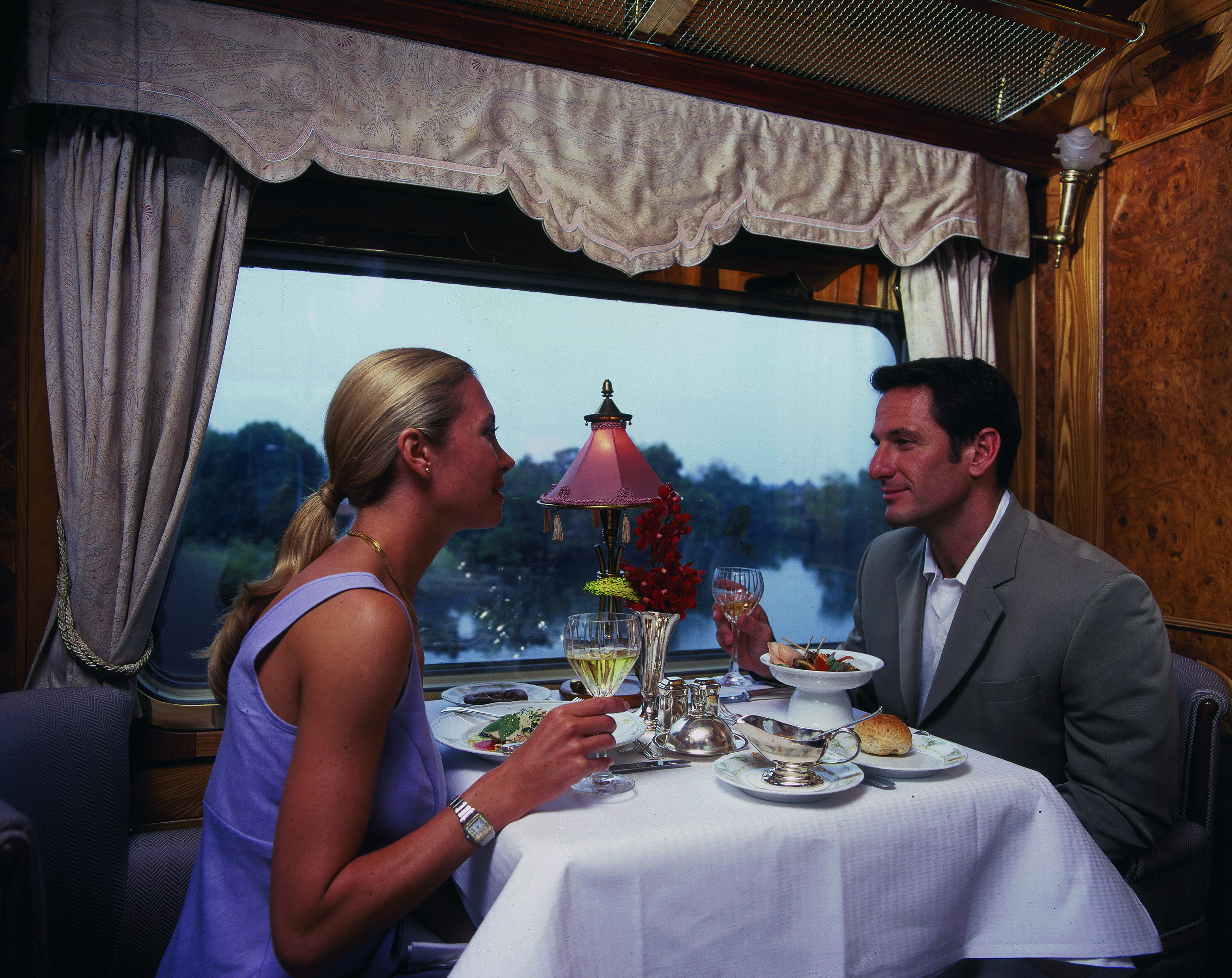 Aimed at bringing millionaires and beautiful singles together on a platform, and enabling them to find opportunities for love and romance(image: Train Chartering & Private Rail Cars/Flickr)
