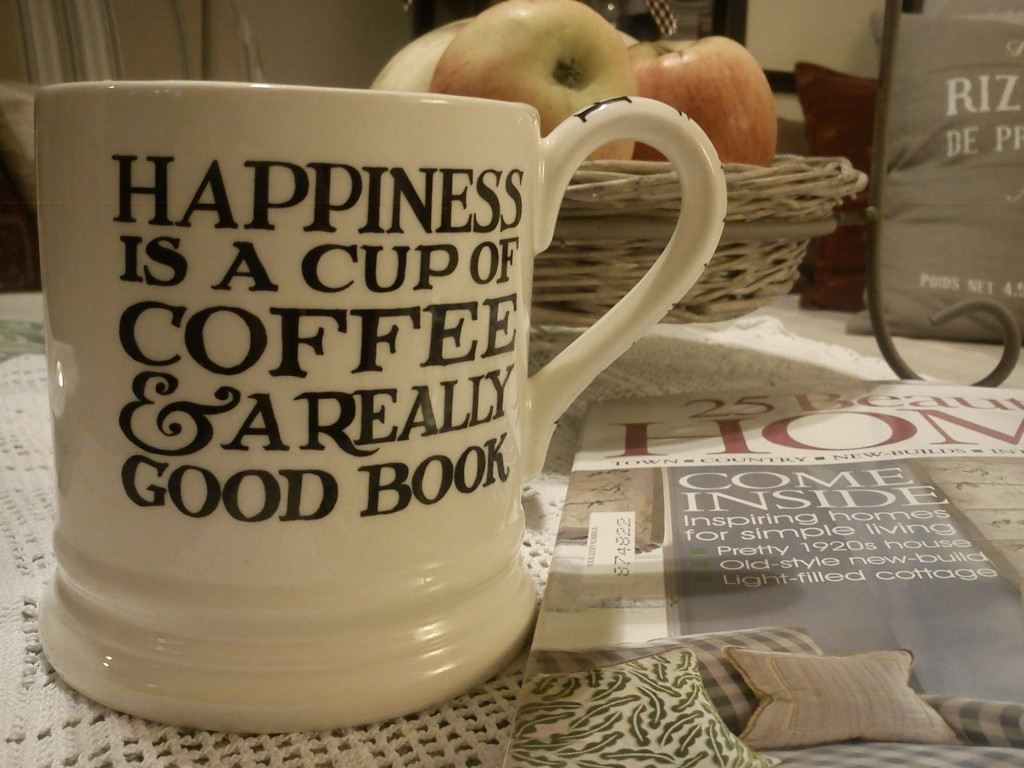 Is happiness all about money? Unfortunately, many Korean teens think so. (image: Emma Bridgewater mug cup (Wikipedia))