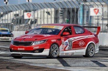 Kia Racing Ready For The 2014 Pirelli World Challenge Season Opener On The Streets Of St. Petersburg