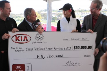 Kia Motors America Renews Contract With LPGA Star And Brand Ambassador Michelle Wie