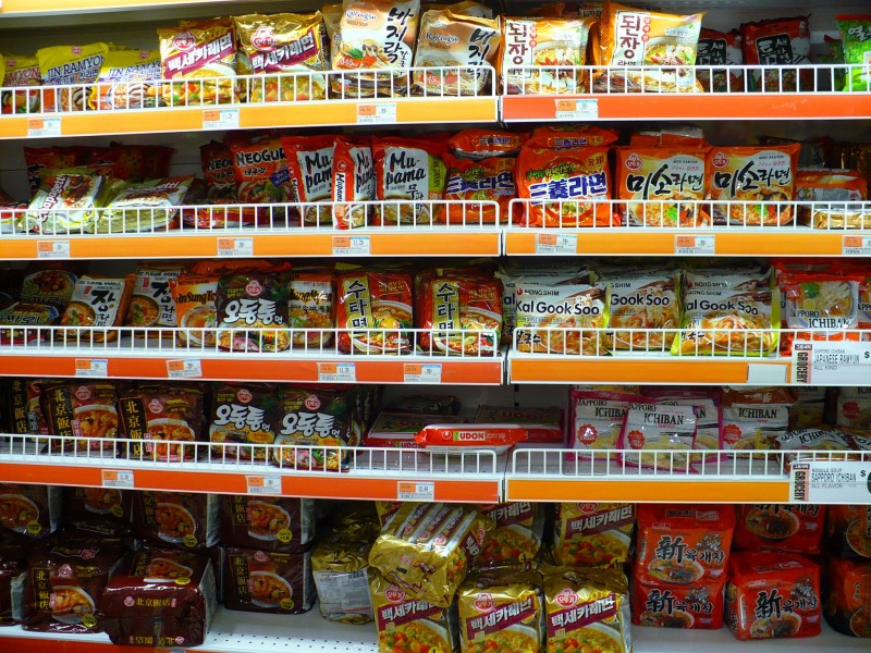 S. Korea's 'Ramyeon' Exports Surpass US$300 mln in 2017