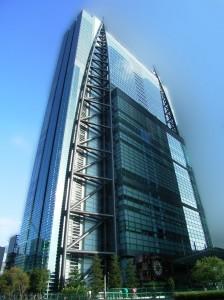 Nippon Television Tower (headquarters) in Minato, Tokyo, Japan (Wikipedia)
