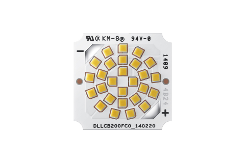 Samsung Electronics Co., Ltd., introduced a new lineup of flip chip LED packages and modules offering enhanced design flexibility and a high degree of reliability. (image credit: Samsung Electronics / Business Wire)