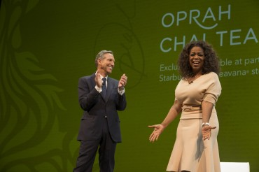 Starbucks and Oprah Winfrey Come Together to Create Teavana® Oprah Chai Tea