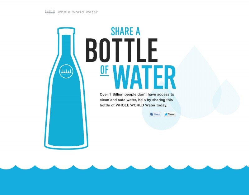 WHOLE WORLD Water Launches Give the #WholeWorldWater Campaign to Address Global Water Crisis