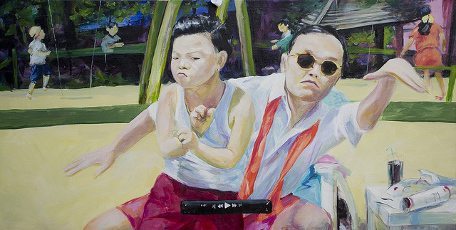 Paintings of Korean Movie Stars Sell Like Hotcakes