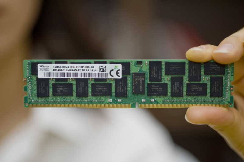 SK Hynix Developed the World's First Highest Density 128GB DDR4 Module
