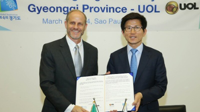 UOL and Gyeonggi Province Partner to Expand Content and Games Industry in Brazil and South Korea