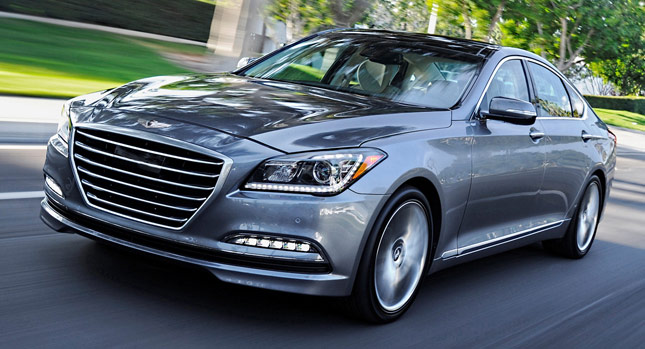 2015 Hyundai Genesis Earns the Most Prestigious Texas Auto Writers Association (TAWA) Award for Car of Texas (image: Hyundai Motor)