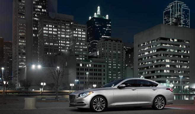 "2015 Hyundai Genesis Named ""Car of Texas"""