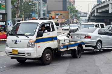Quarter of Seoul Citizens Busted for Illegal Parking
