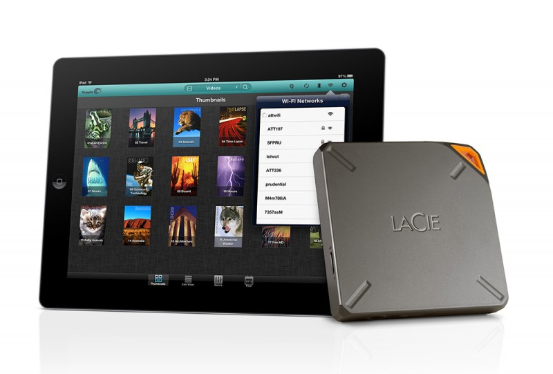 LaCie Fuel Doubles Capacity, Now Expands iPad Capacity by 2TB
