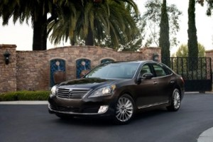 In the redesigned 2014 Hyundai Equus, the themes of premium and performance greet the driver behind the wheel. (image: (PRNewsFoto/Hyundai Motor America)