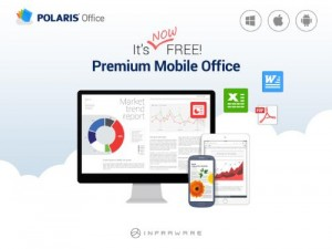 POLARIS Office can be used from anywhere at anytime. (PRNewsFoto/INFRAWARE)