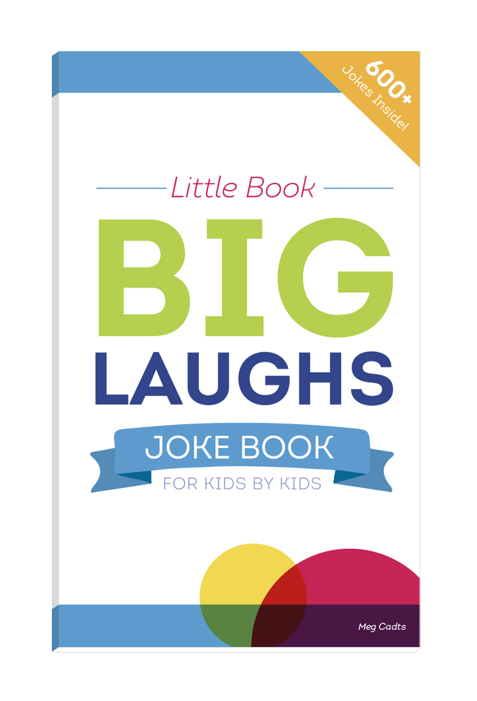 "Book is available at Amazon.com; proceeds will help fund medical grants for children. (image: ""Little Book – Big Laughs Joke Book"" front cover/UnitedHealthcare Children's Foundation)"
