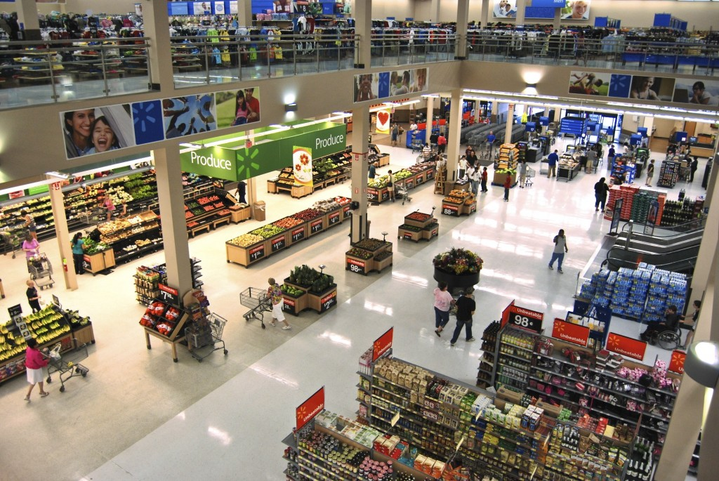 Move Enables Walmart to Cut Energy for Store Lighting by Another 40 Percent; Savings Support Company's Everyday Low Prices (image: Matt H. Wade/ Wikimedia Commons)